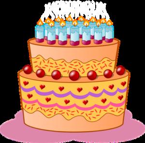 un gâteau anniversaire